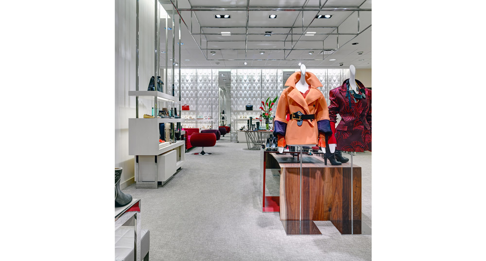 Neiman Marcus, Michigan Avenue, Chicago, Illinois, Retail Design